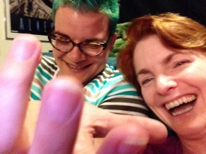Pictured: silly drunk ladies